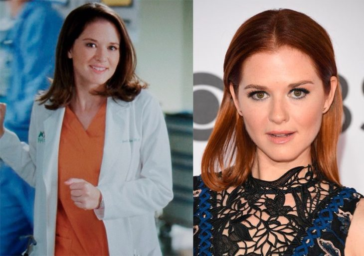 Antes y después de April Kepner