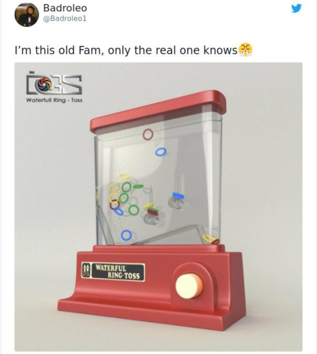 Artículos vintage que te harán sentir viejo; juguete