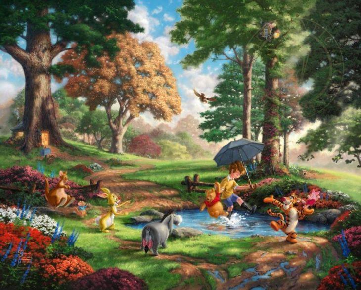 Ilustración Winnie The Pooh