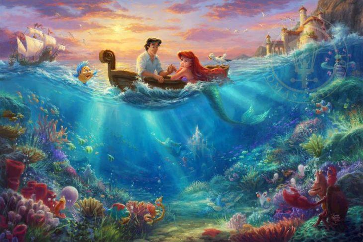 Ilustración La Sirenita