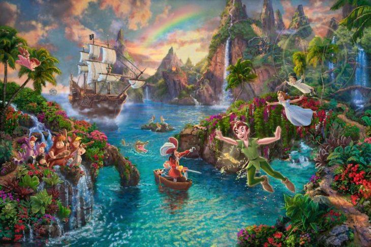 Ilustración Peter Pan