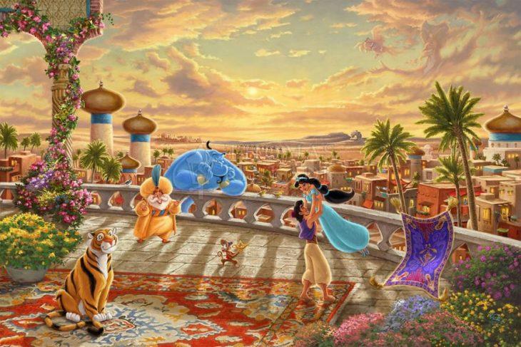 Ilustración Aladdin