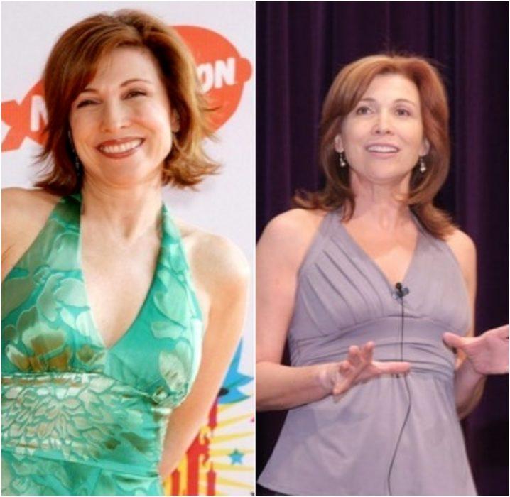 Nancy Sullivan antes y después de estar en el programa de Nickelodeon Drake & Josh