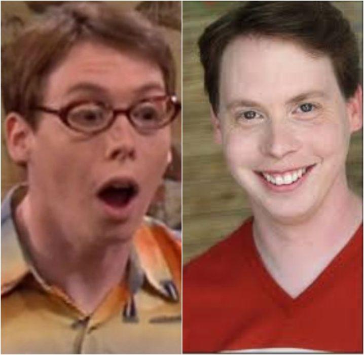 Scott antes y después de estar en el programa de Nickelodeon Drake & Josh