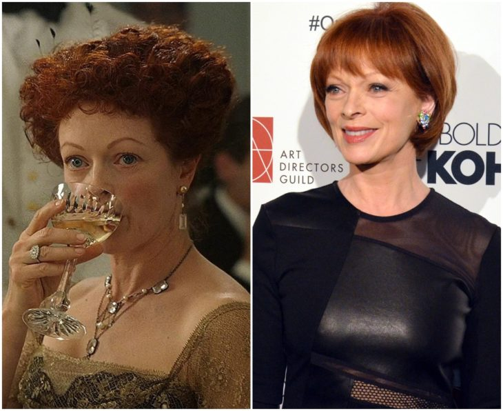 Ruth DeWitt Bukater interpretada por Frances Fisher en Titanic