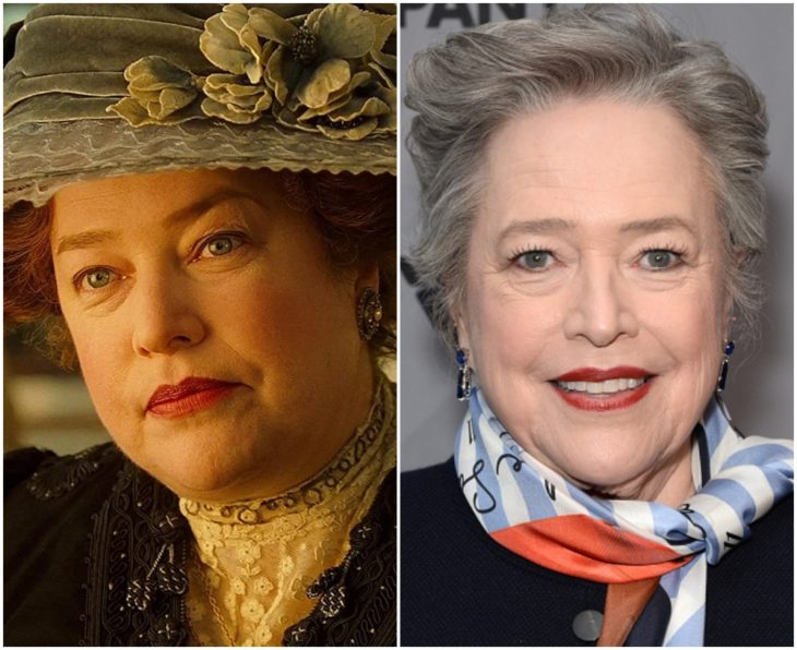 Margaret Brown interpretada por Kathy Bates en Titanic