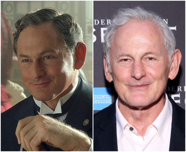 Thomas Andrews interpretada por Victor Garber en Titanic