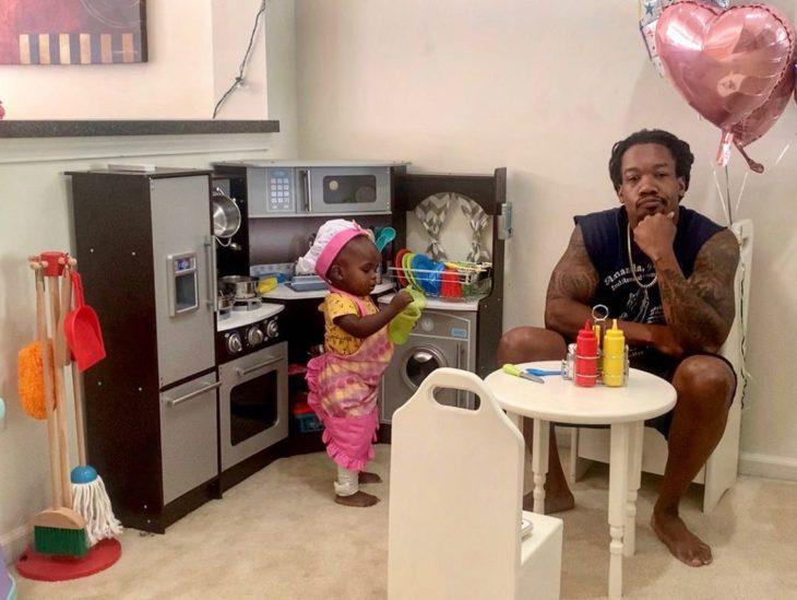 Chris en Ava's kitchen