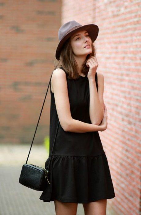 Total black outfit for summer and halftime