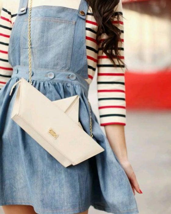 Bolsas kawaii bonitas y originales; bolso de mano de barco de papel