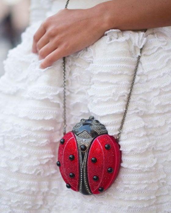 Bolsas kawaii bonitas y originales; bolso de mano en forma de catarina
