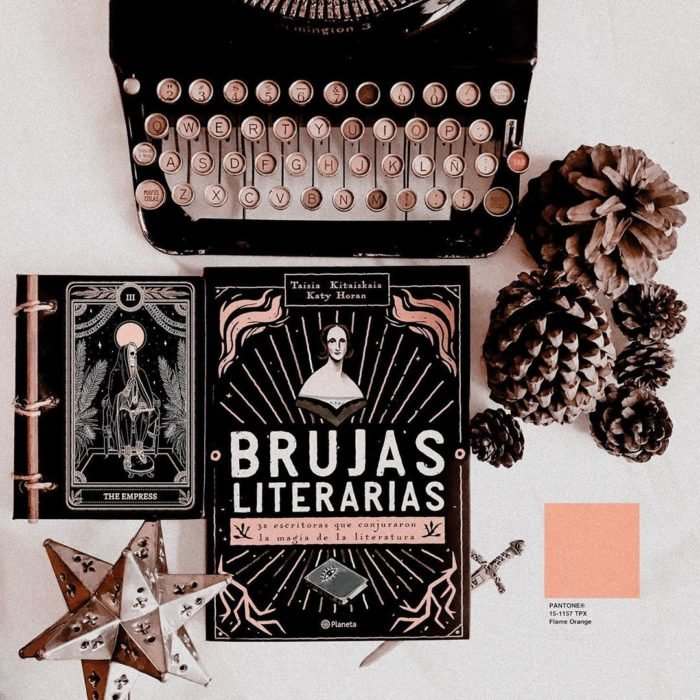 Libro Brujas literarias de Taisia Kitaiskaia y Kati Horan