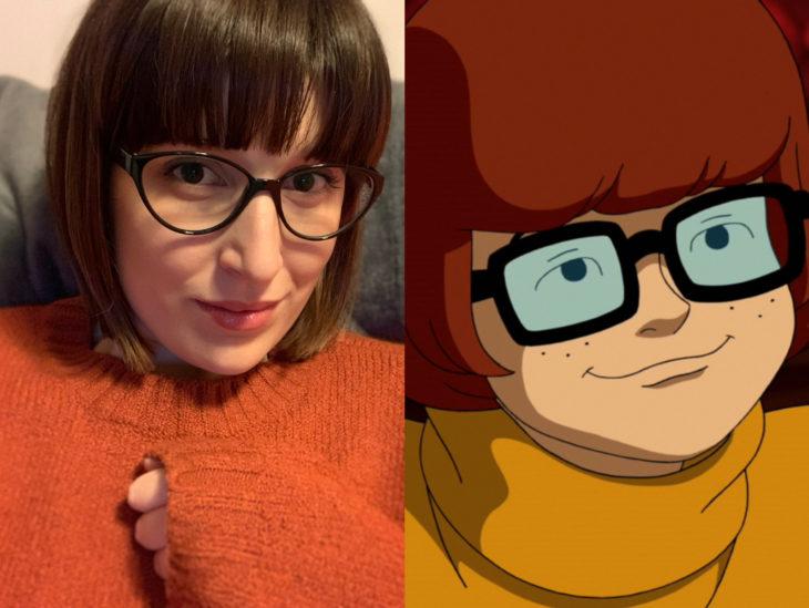 Personas que se parecen a personajes de películas animadas; Vilma Dinkley, Scooby Doo
