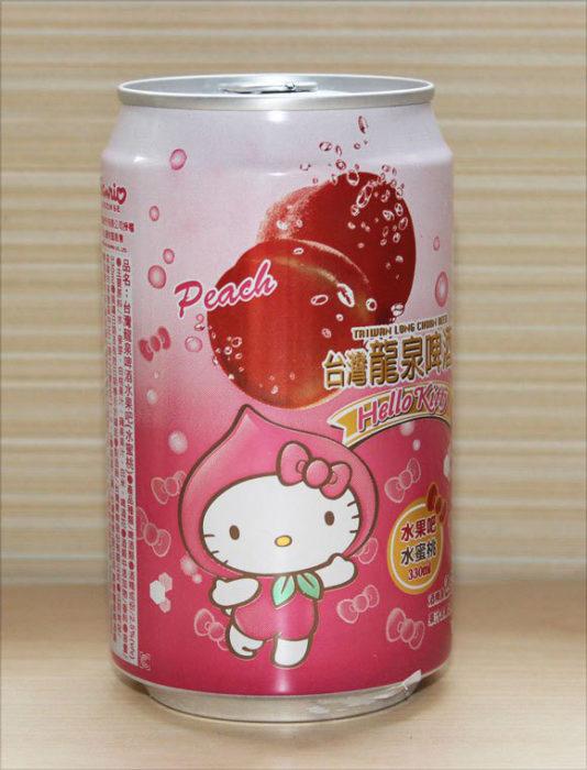 Cerveza de Hello Kitty sabor durazno