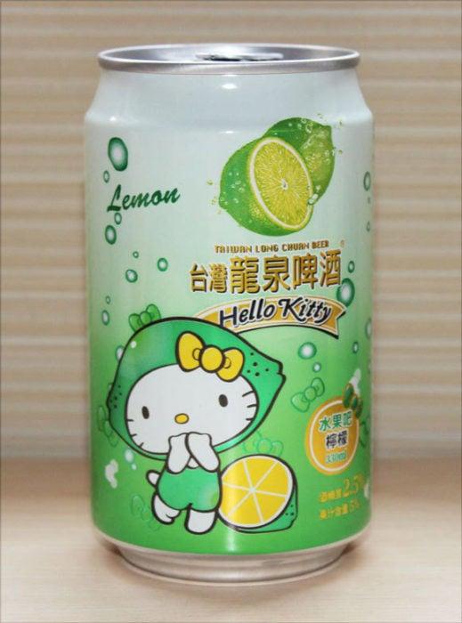 Cerveza de Hello Kitty sabor limón