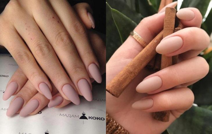Colores de manicura; nude