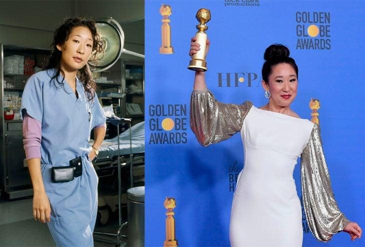Antes y después de Cristina Yang