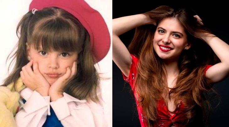 Antes y después de Daniela Aedo