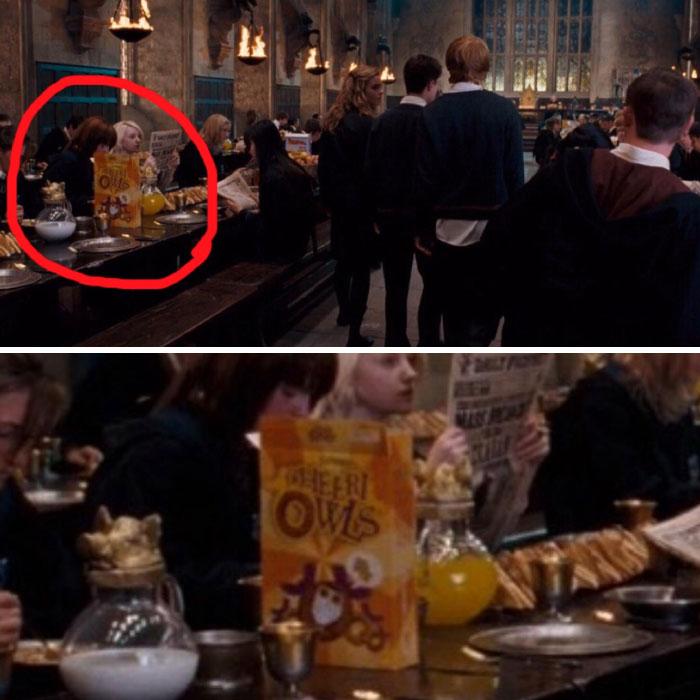 Cereal Owells que aparece en las cenas de Harry Potter