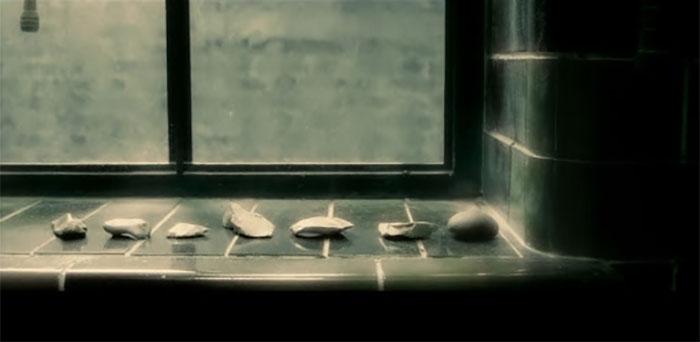 Piedras que representaban los Horrocruxes en Harry Potter