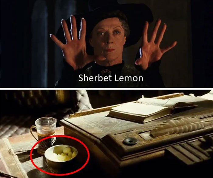 Dulces de limón que Albus Dumbledore comía en las películas de Harry Potter