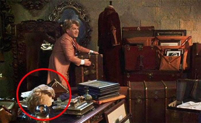 Pelucas que Gilderoy Lockhart usaba en las películas de Harry Potter