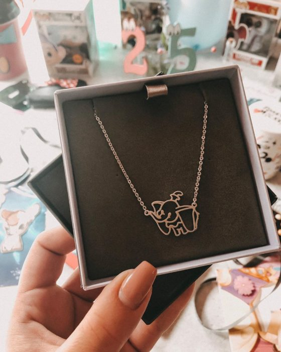 Dumbo Charm Necklace