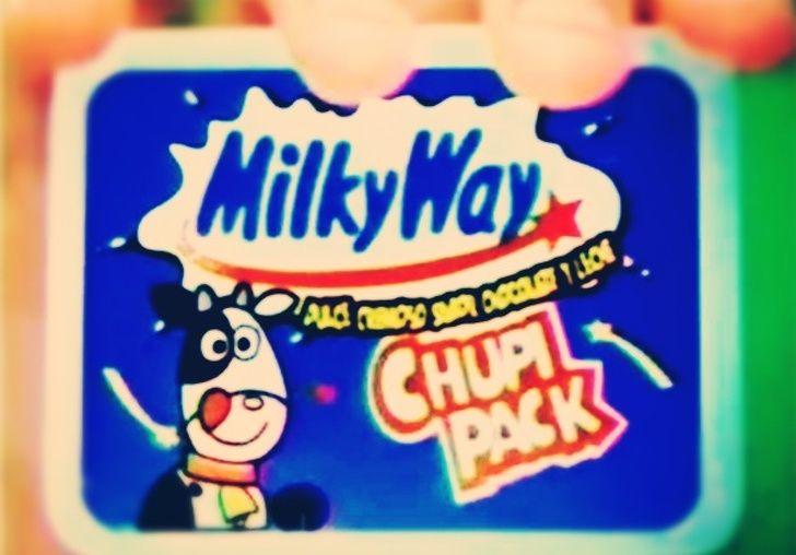 Dulce estilo duvalín de Milky Way
