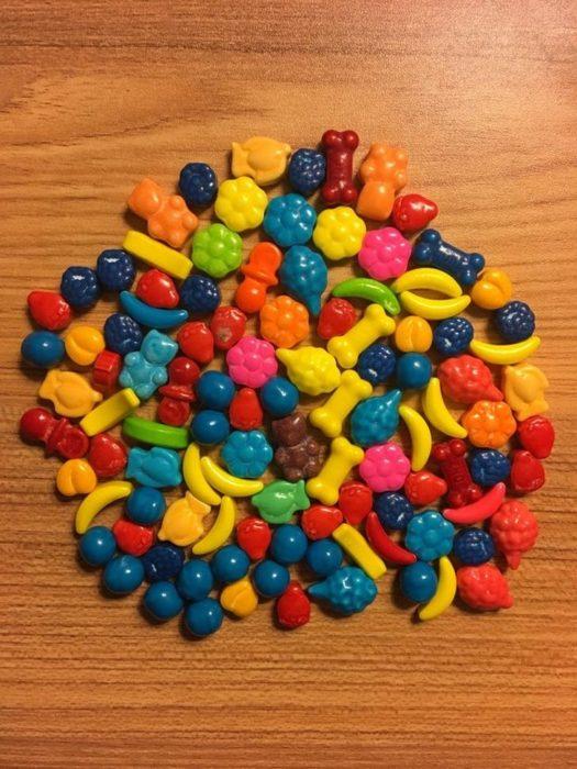 Surtido de caramelos de frutas
