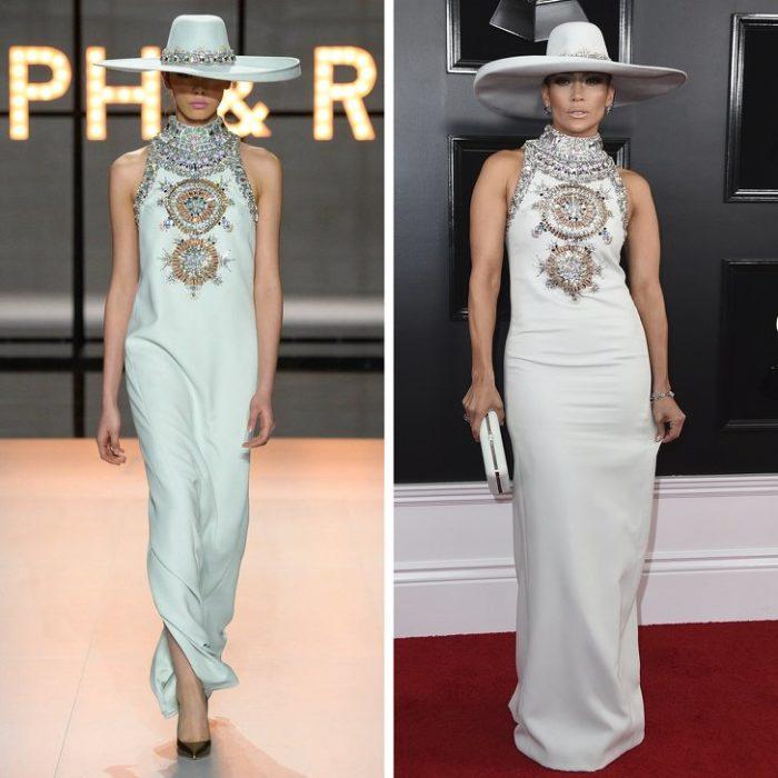 Expectativa vs realidad de cómo se ven las famosas con vestidos de diseñadores