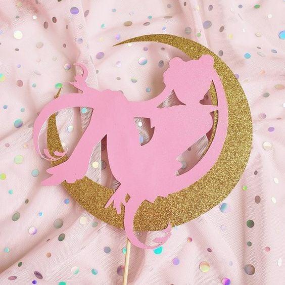Decoración de Sailor moon para fiestas