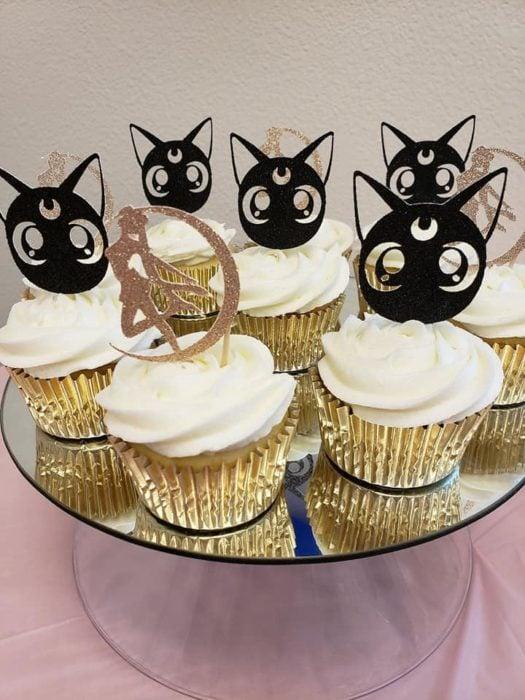 Cupcakes de Luna Sailor Moon