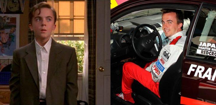 Antes y después de Frankie Muniz