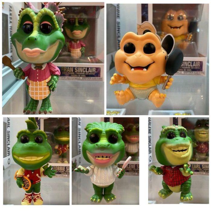 Funko familia dinosaurios