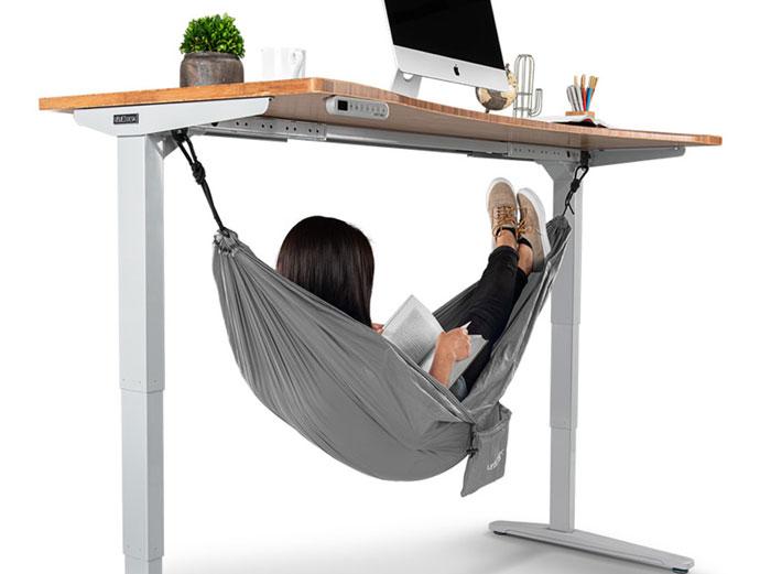 Hamaca de escritorio para godínez