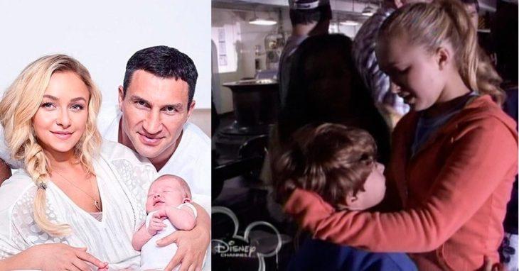 Hayden Panettiere cuando actuaba en su adolescencia y ahora que tiene hijos