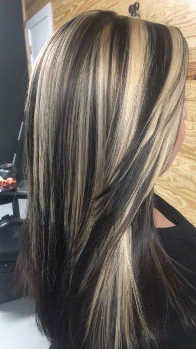 High-Contrast hair