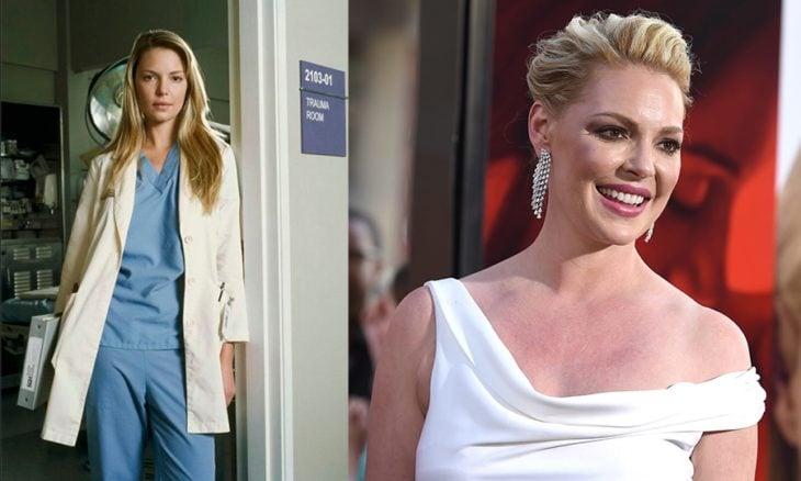 Antes y después de Izzie Stevens