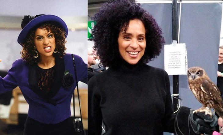 Antes y después de Karyn Parsons