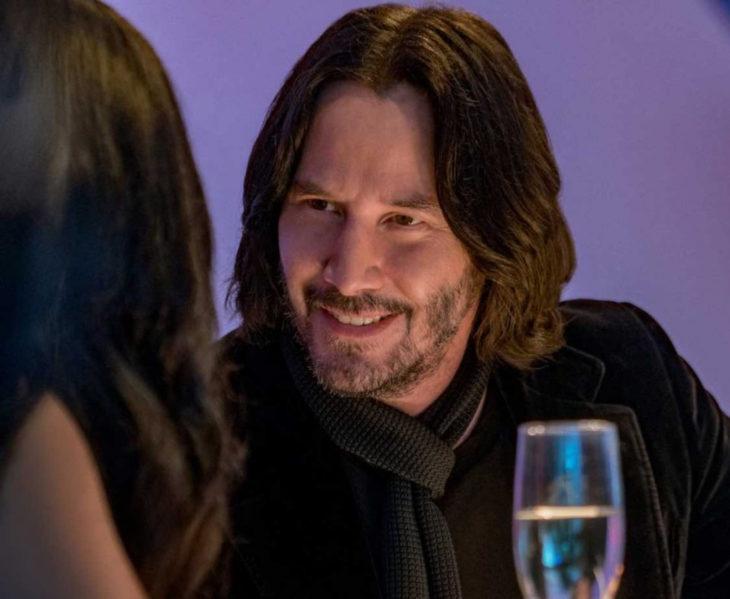 Keanu Reeves subasta cita vía Zoom; Quizás para siempre, Always be my maybe