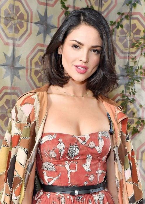 Eiza Gonzalez wearing pink lipstick