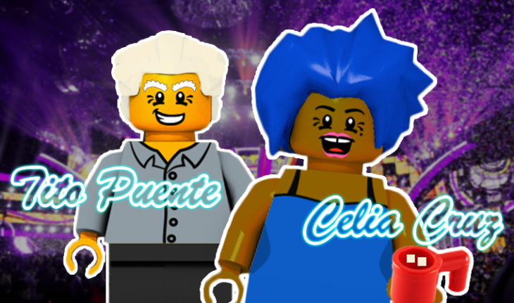 Lego Celia Cruz