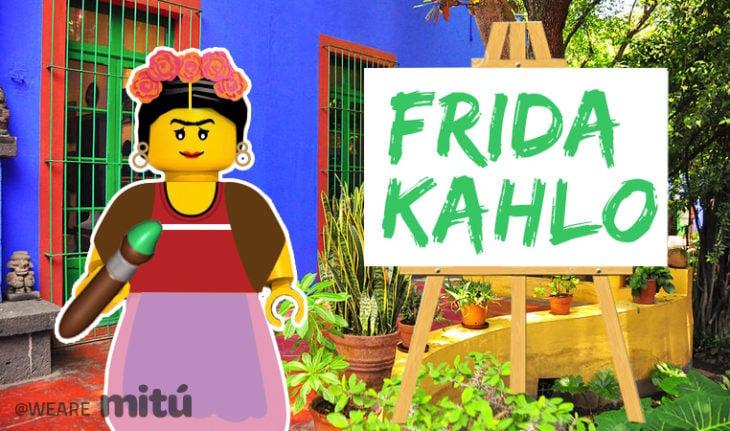 Lego Frida Kahlo