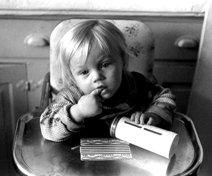 Leonardo DiCaprio de bebé