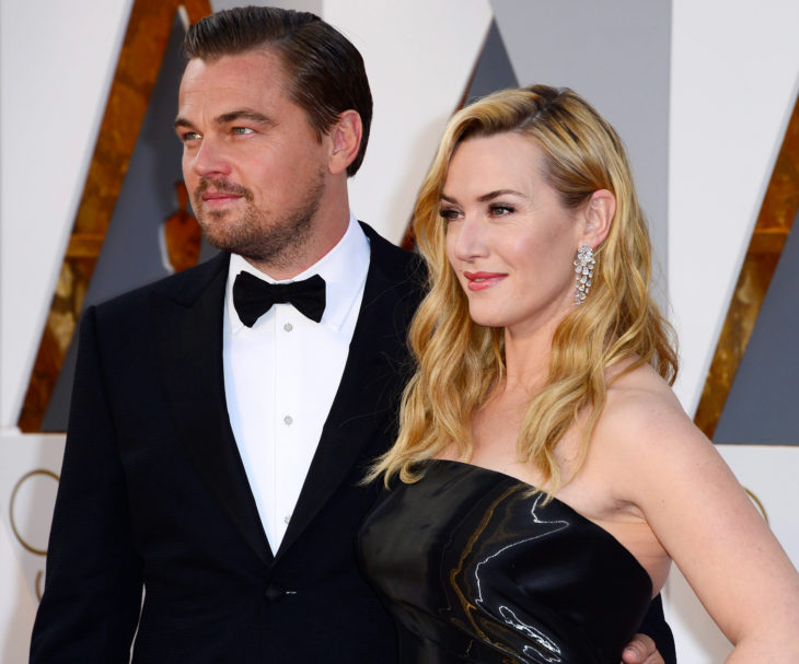 Leonardo DiCaprio con Kate Winslet