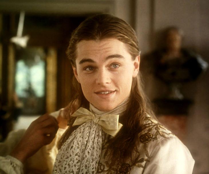 Leonardo DiCaprio en La máscara de hierro
