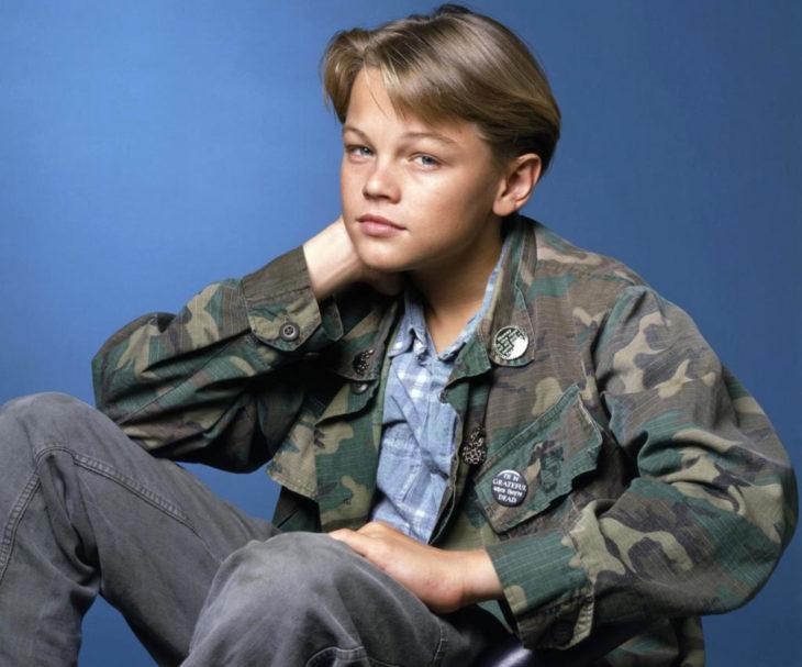 Leonardo DiCaprio de niño