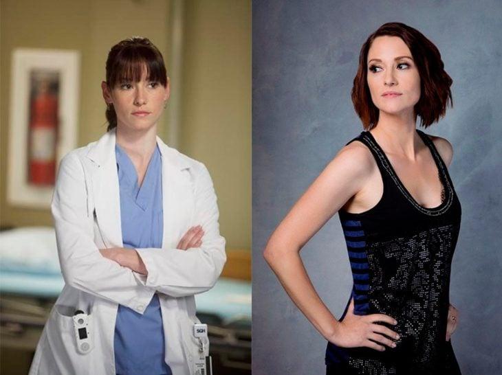 Antes y después de Lexie Grey