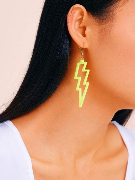 Neon green beam gear