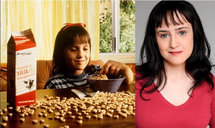 Antes y después de Mara Wilson